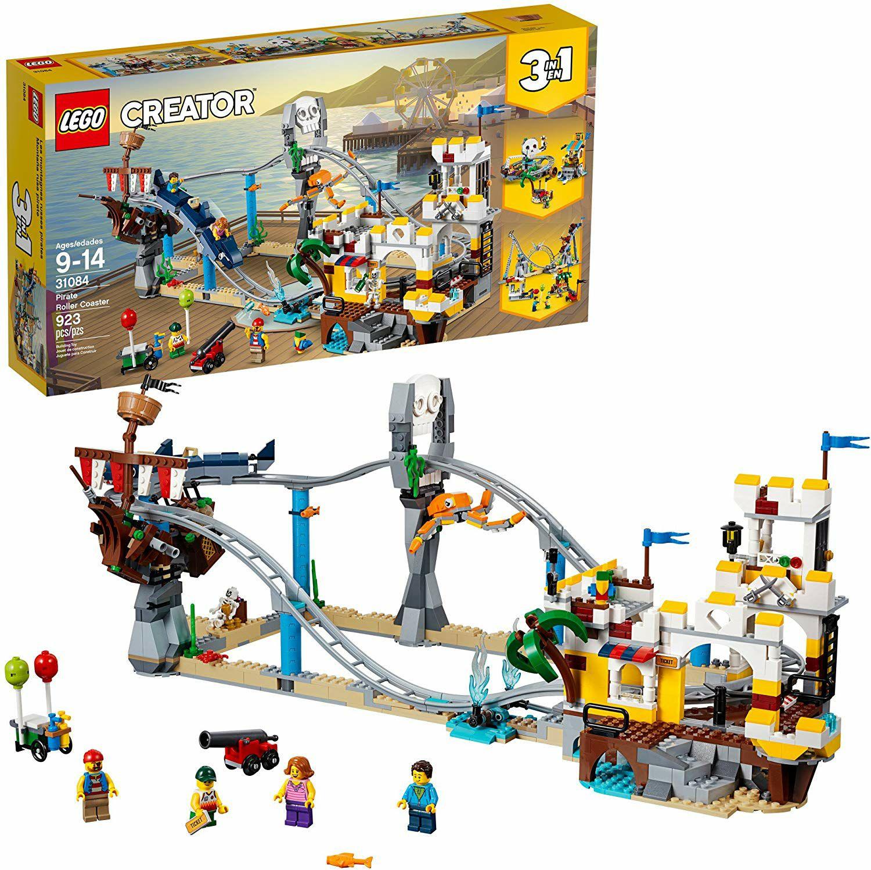 Amazon:LEGO Creator, Montaña Rusa Pirata 31084 y LEGO Ninjago, Pozo del dragón 70655