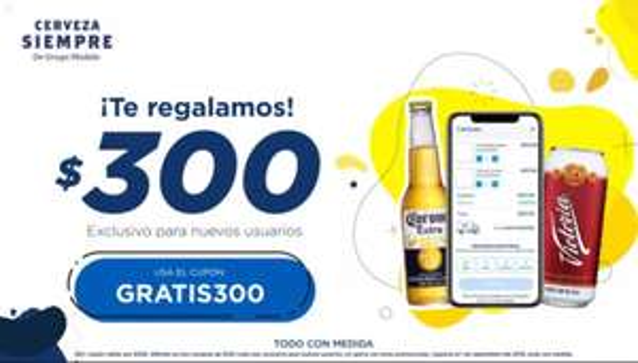 Cervezasiempre: Tres cupones de $100 de descuento en cerveza