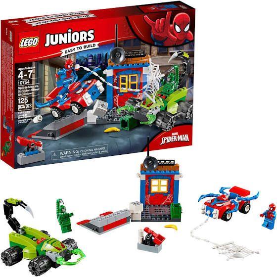 Amazon: LEGO Juego de Construcción Juniors Marvel Super Heroes Spider-Man Vs. Escorpión