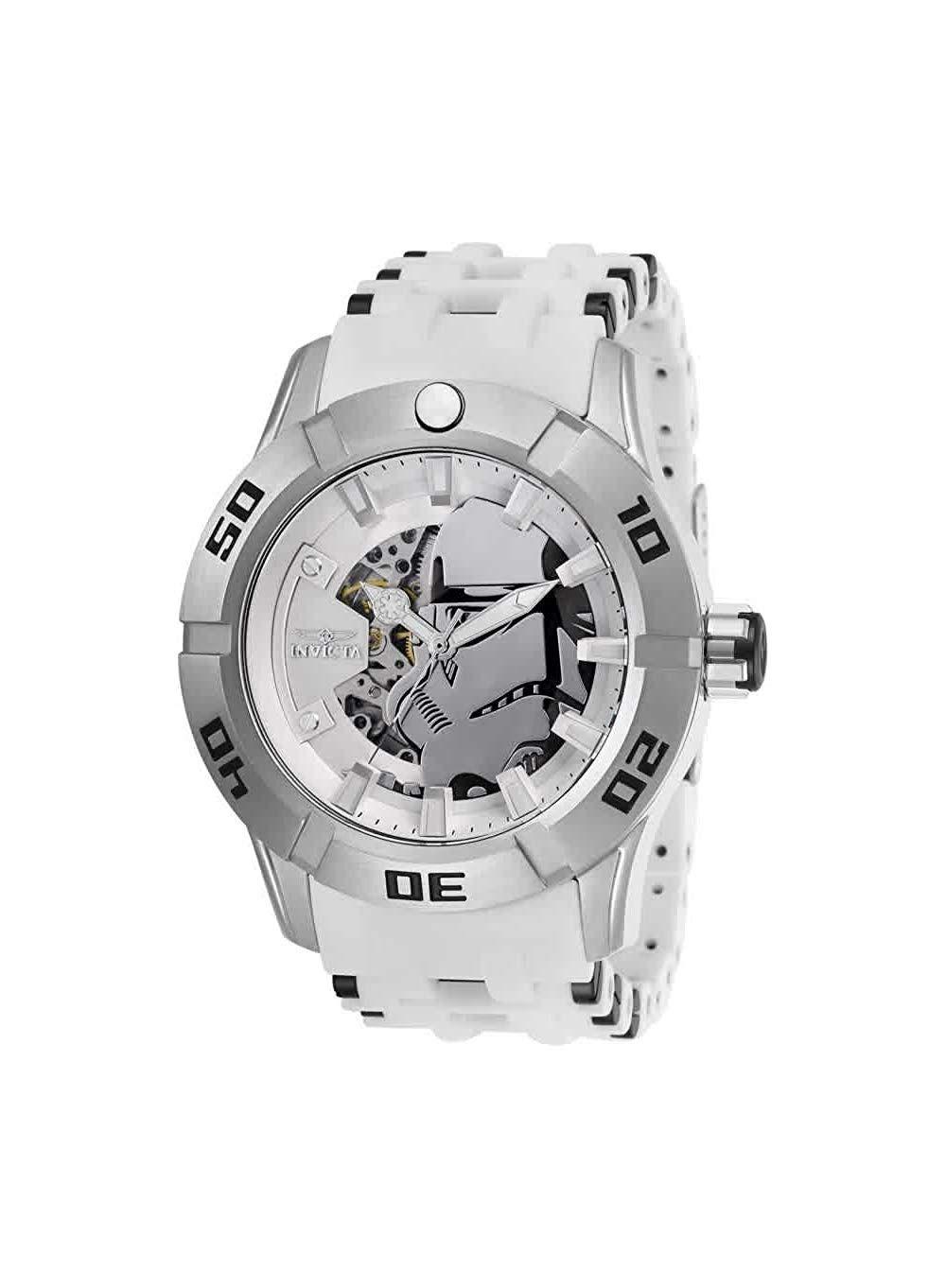 Amazon: Invicta Star Wars Automatic White Dial Men's Watch 26554