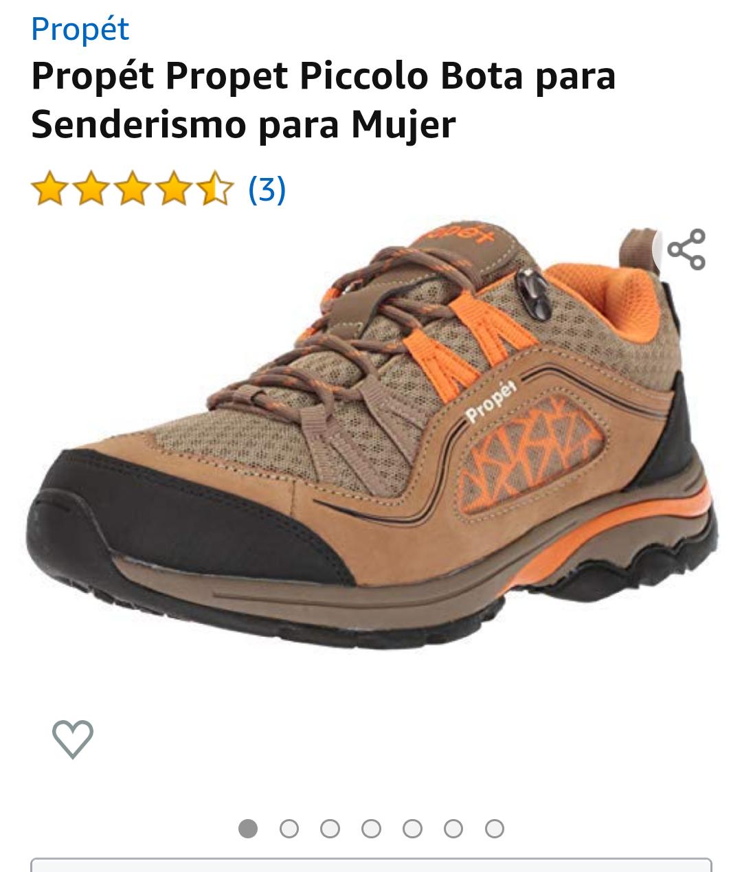 Amazon Propet Piccolo Bota mujer  para Senderismo