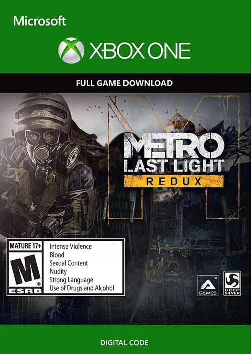 CdKeys: Metro Last Light Redux (Xbox One)