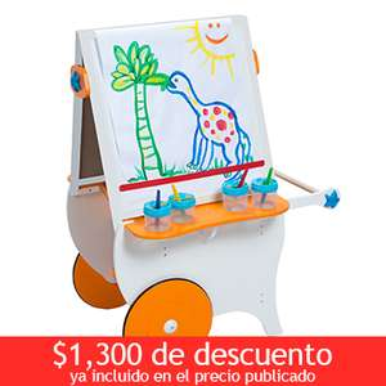 COSTCO en linea : Pizarrón para actividades con accesorios  $999