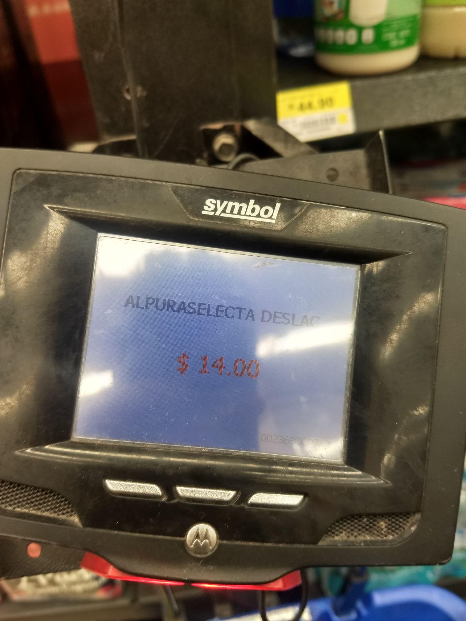 Walmart: Leche Alpura deslactosada