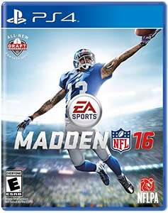 Amazon: Madden 2016 (ps3,ps4,xbox one y 360)