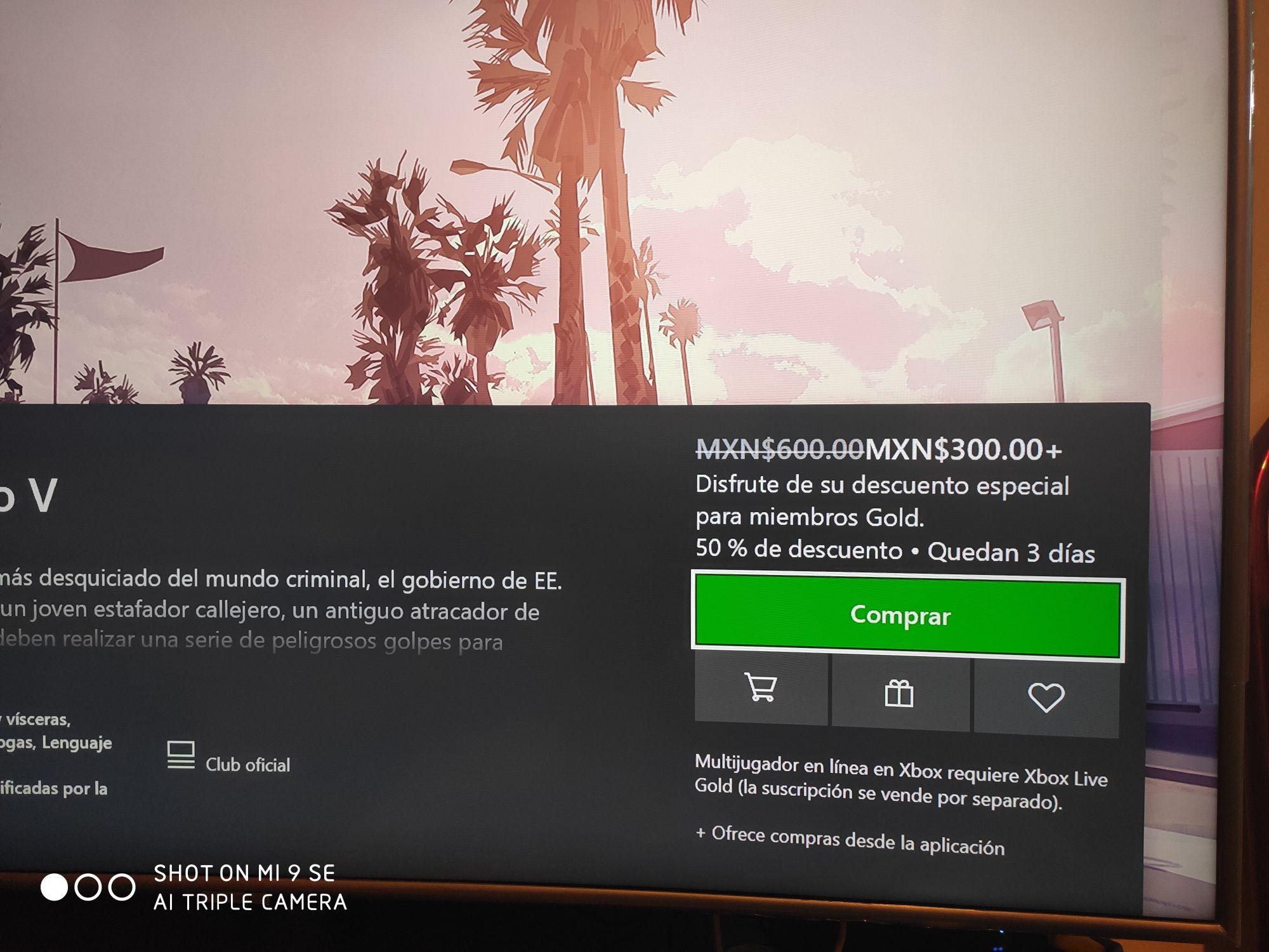 Microsoft Store: Grand Theft Auto V para Xbox One