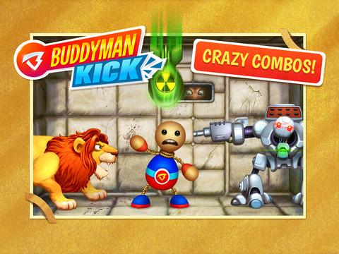 Juego BUDDYMAN:KICK HD para iOS, GRATIS por 24 horas en iTunes.