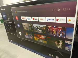 Sam's Club Smart TV 58 pulg. Marca Hisense modelo H586500E del 2019