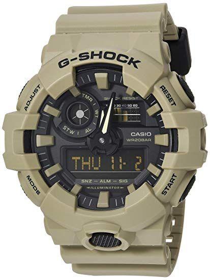 Amazon: Reloj Casio 'G Shock' para hombres de cuarzo color: gris (modelo: ga-700uc-8acr)