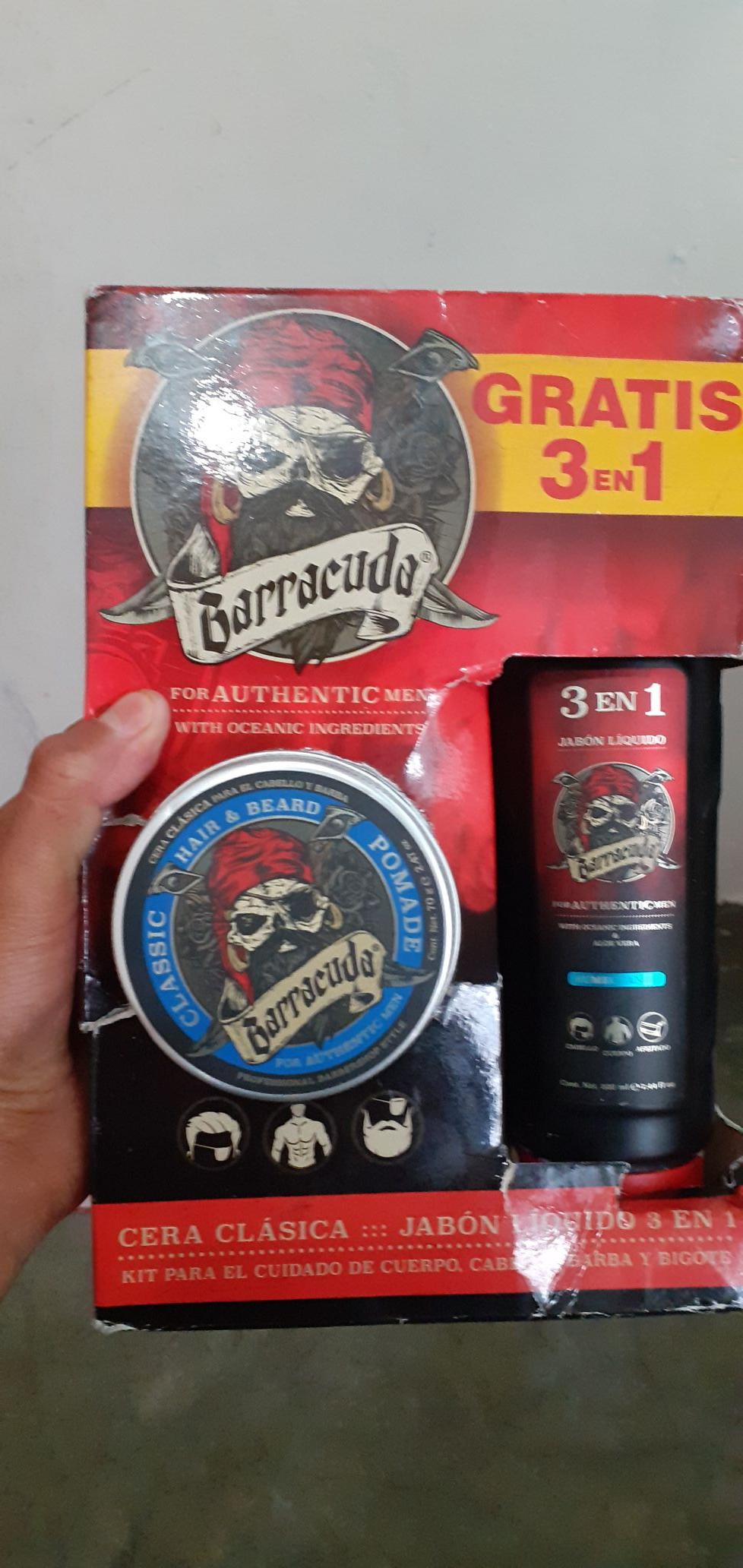 Bodega Aurrera: Jabon liquido Barracuda 3 en 1