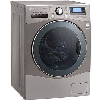 Linio: Lavasecadora LG WD10SB6 Carga Frontal 10 kilos Silver