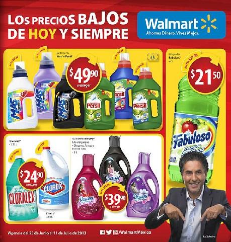 Folleto Walmart del 25 de junio al 11 de julio