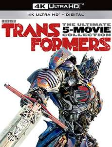 Amazon: Transformers The Ultimate Five Movie Collection 4K
