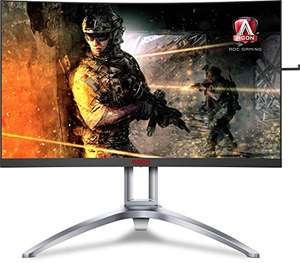 "Amazon: Monitor curvo AOC 27"" 2k 144HZ VA"