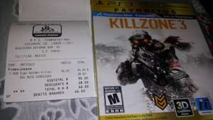 Chedraui Cd Labor: KILLZONE 3 PS3 $99.00 con el 30% de descto queda en $66.50