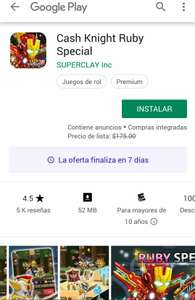 Google Play: Cash Knight Ruby Special