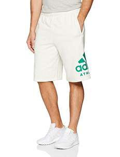 Amazon: Adidas CW3600 Pantalones Cortos para Hombre talla mediana, aplica Prime