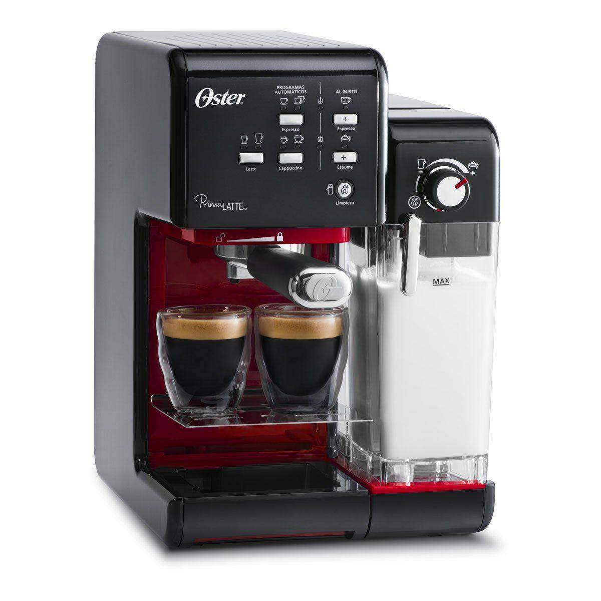 Claro Shop: Cafetera Prima Latte 2 Oster Espresso Capuchino
