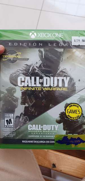 Mixup: Call of duty legacy edition Xbox One