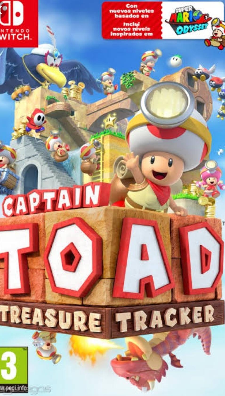 Nintendo: Capitan Toad para nintendo switch gratis 5-11Agosto