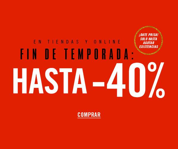 Forever 21: hasta 40% de descuento de fin de temporada en tienda y online