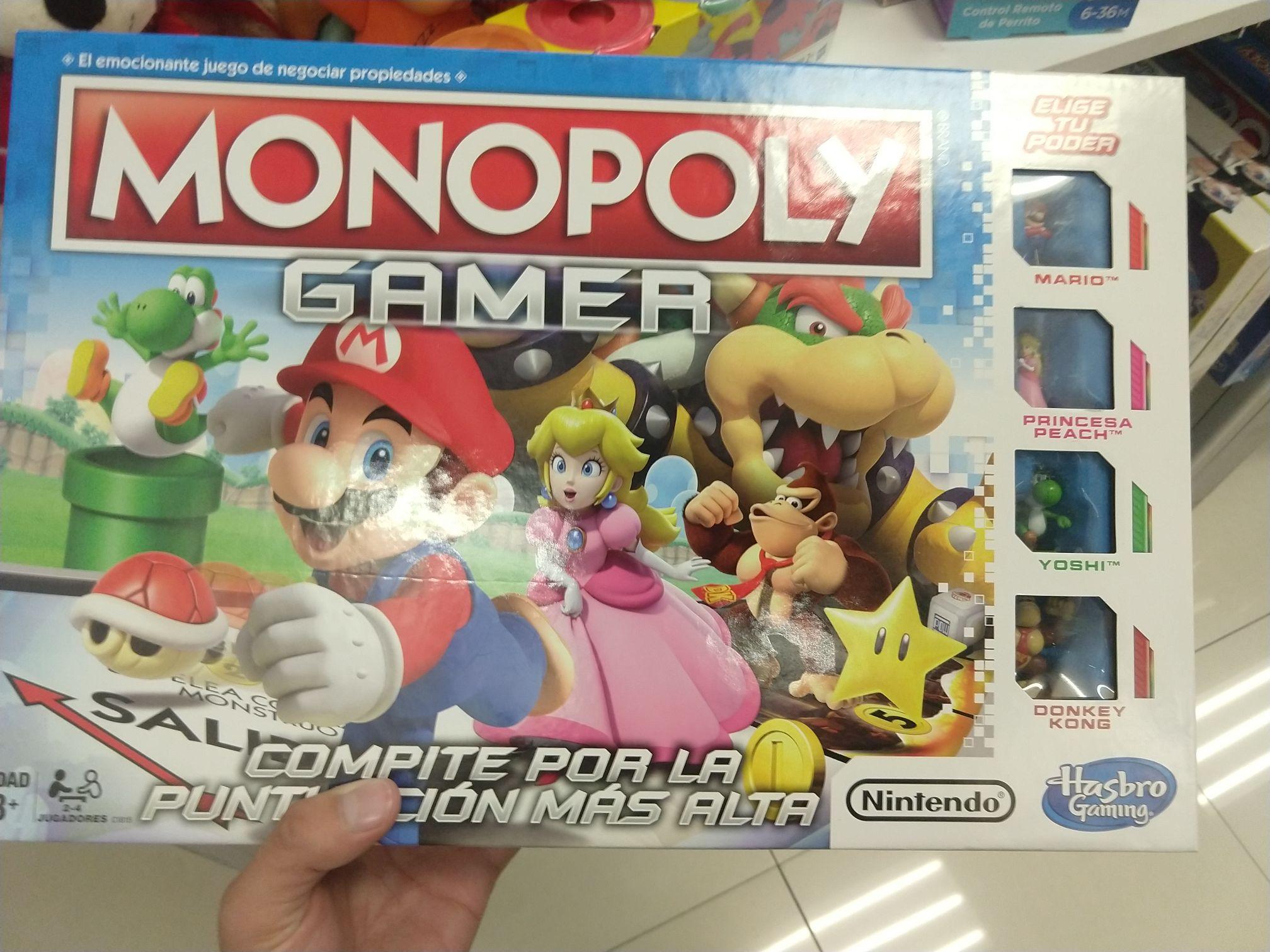Suburbia Plaza Oriente: Monopoly Mario Bros Gamer