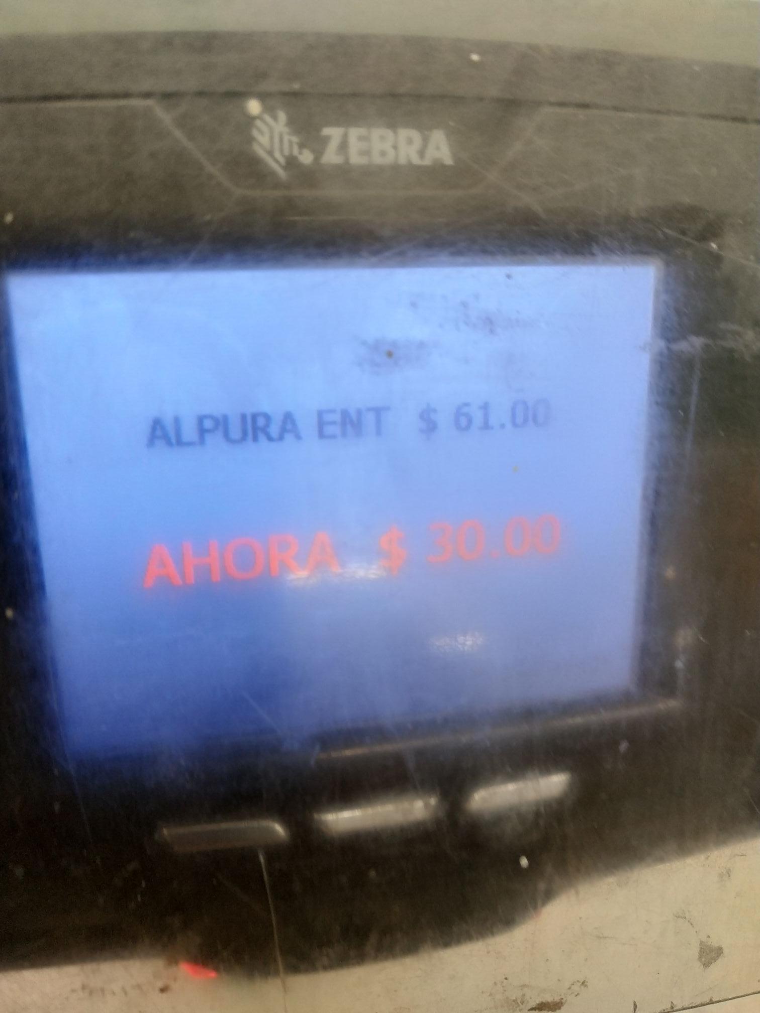 Bodega Aurrera: Alpura Clasica 3.78Lts