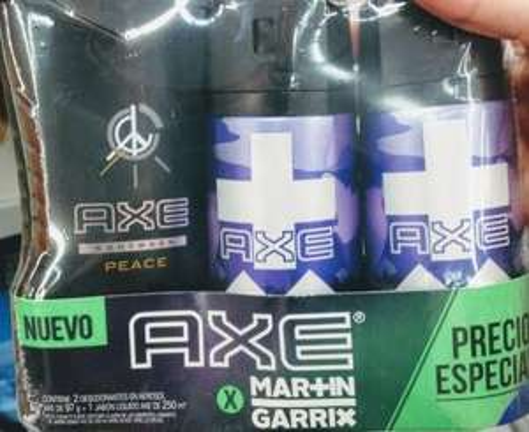 Shampoo Y Desodorante Axe Martín Garrix Chedraui Cancún Tulum