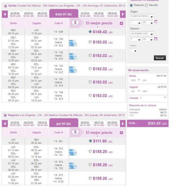 Volaris: vuelos redondos a Tijuana desde $1,999 y a USA desde $269 dólares