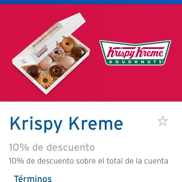 Krispy kreme: 10% de descuento con Citibanamex