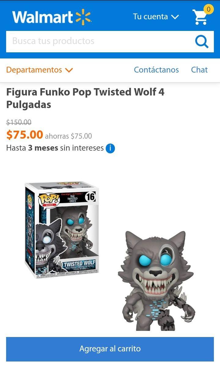 Walmart: Funko Pop Twisted Wolf