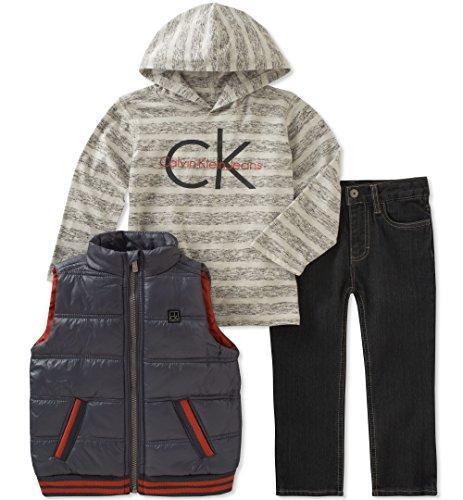 Amazon: Varios Conjuntos Calvin Klein talla 4 años