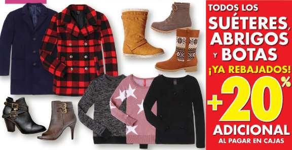 Suburbia: 20% de descuento extra en sweaters, abrigos y botas