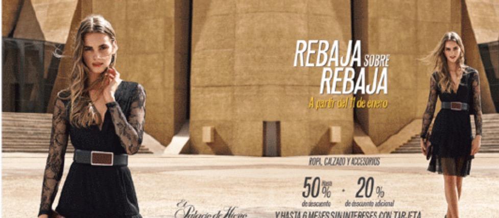 Rebaja sobre rebaja en el Palacio de Hierro a partir del 11 de enero
