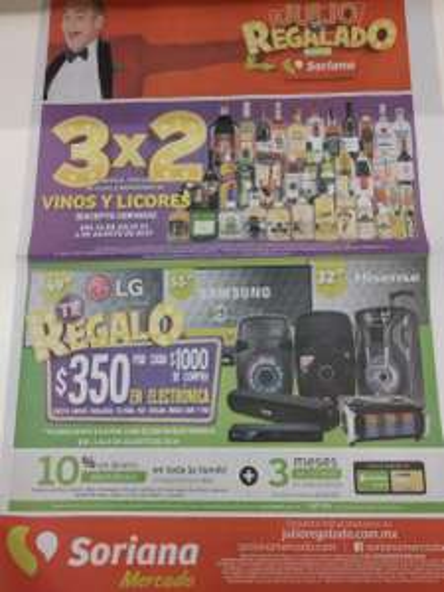 Soriana Mercado: Último folleto de Julio Regalado del 02 al 08 de Agosto 2019