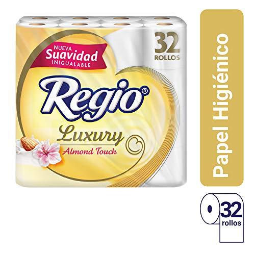 Amazon: Regio Luxury Almond Touch Toilet Paper 32 rolls