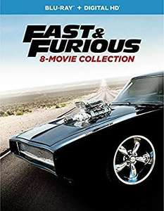 Amazon: Fast & Furious: 8-Movie Collection [Blu-ray]