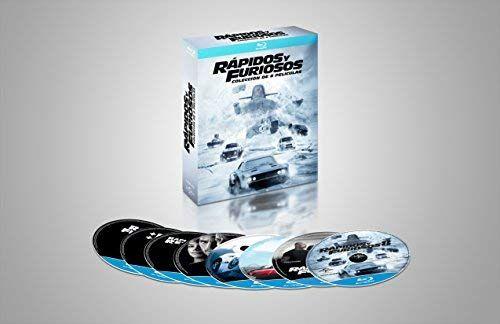 Amazon: Colección Rápidos y Furiosos Part 1-8 (Blu-ray)