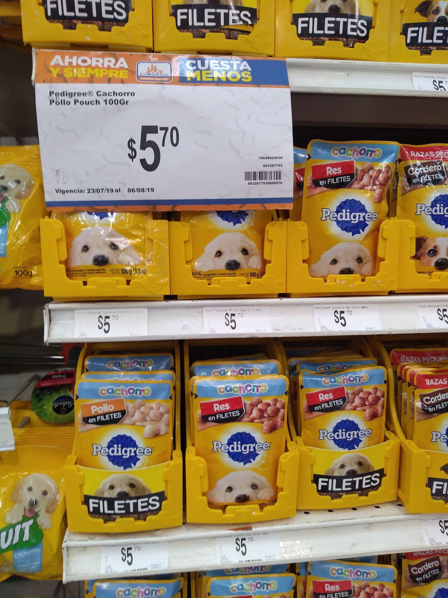 Chedraui Veracruz: comida para perro.