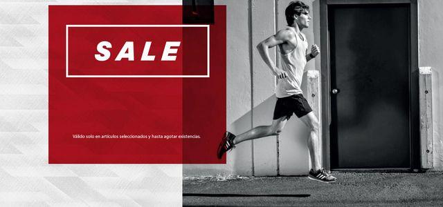 Adidas online sección outlet: hasta 50% de descuento