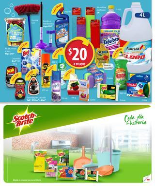 Folleto Walmart del 7 al 26 de Enero. Varios descuentos en artículos de limpieza y ejercicio.