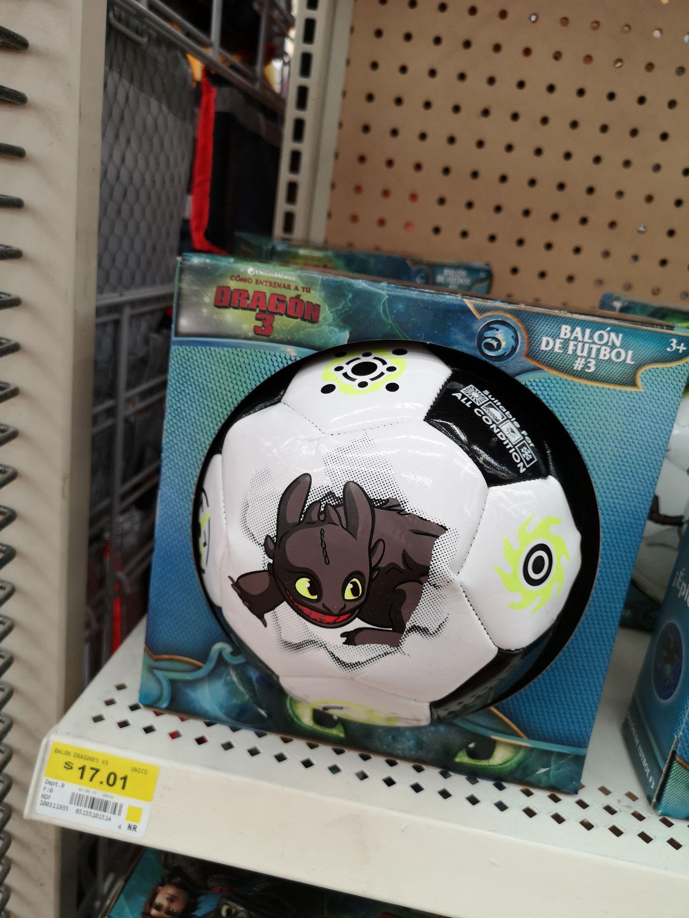 Walmart: Balón de fútbol #3