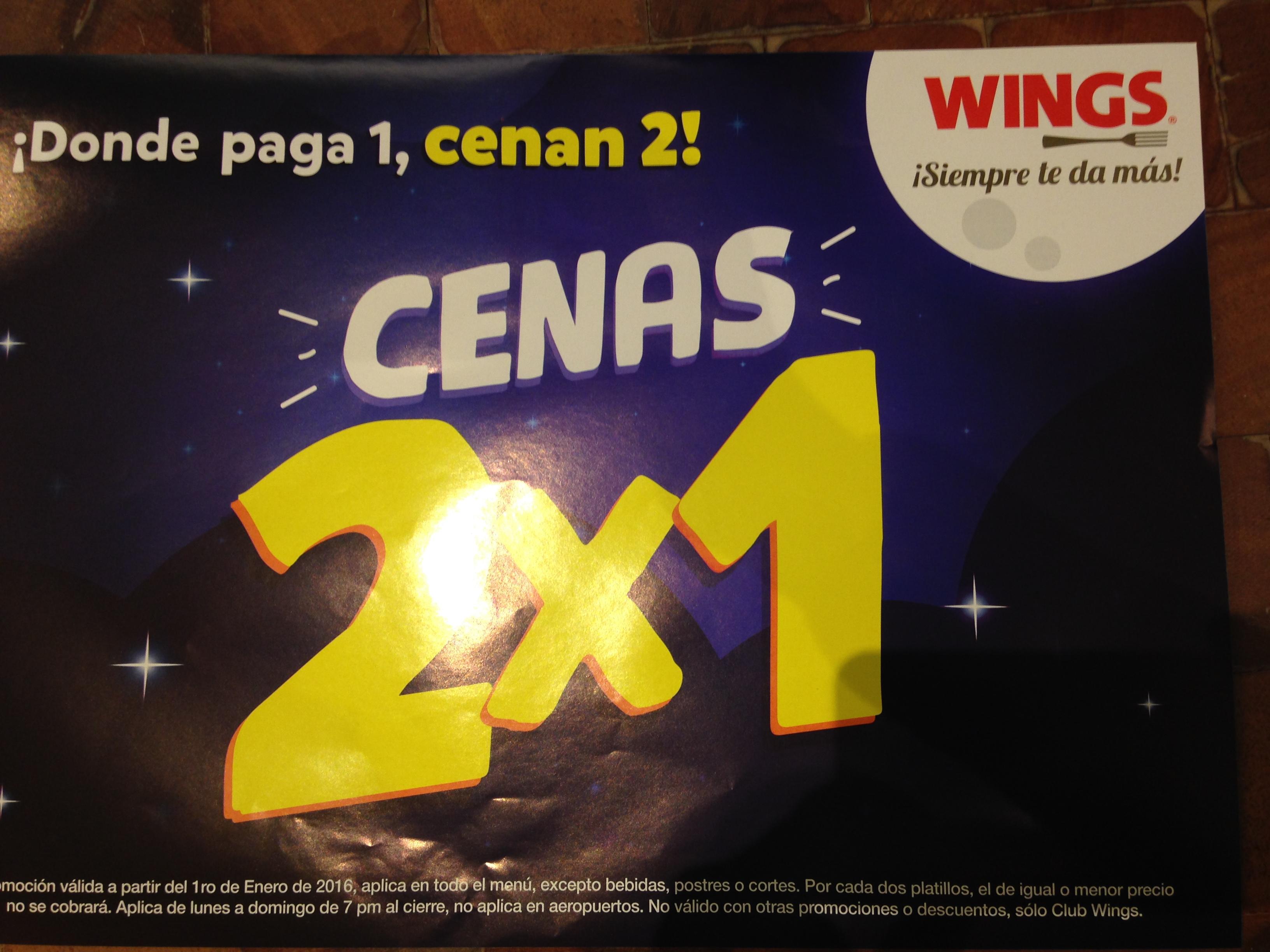 Cenas 2x1 WING'S