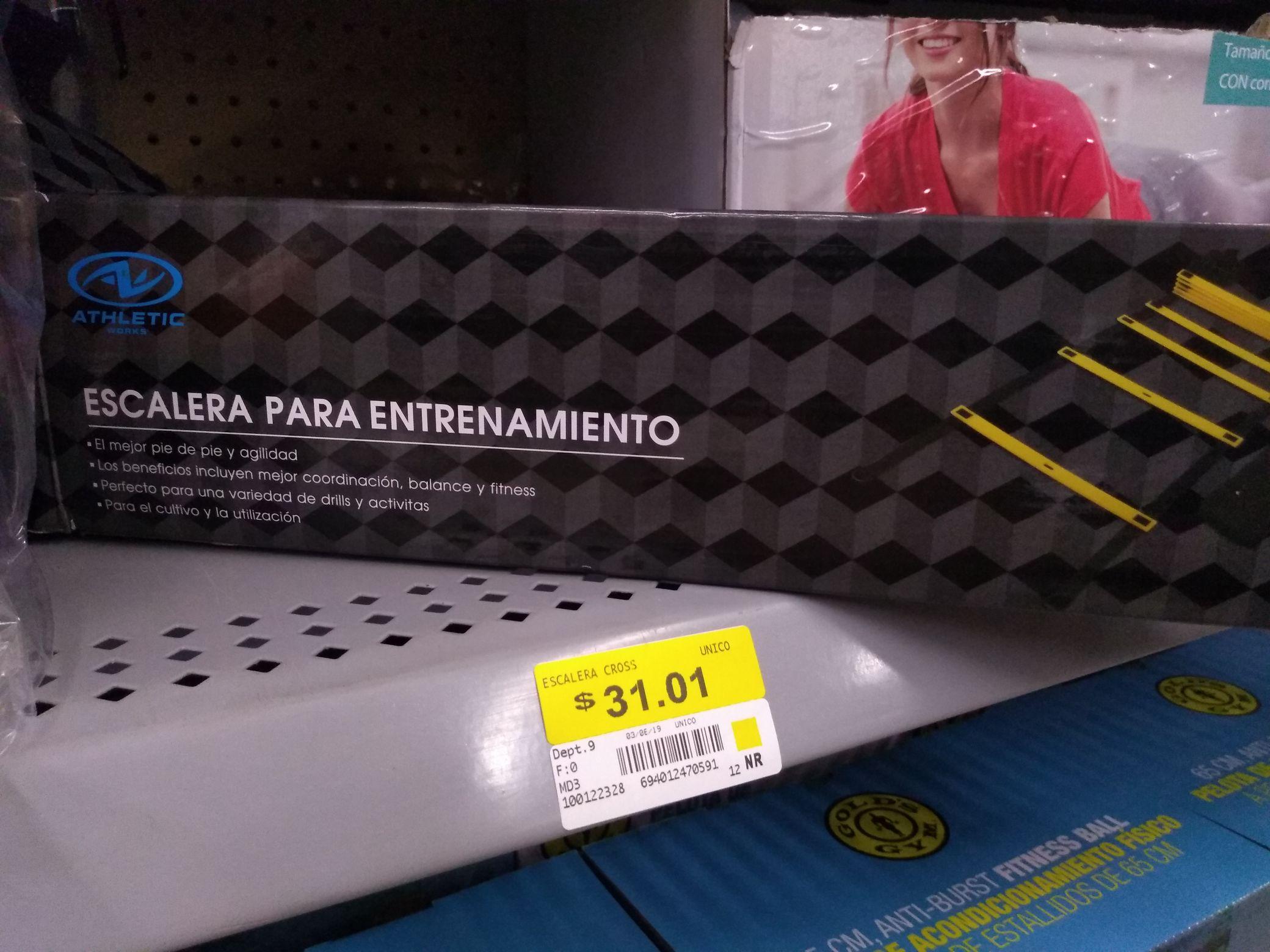 Walmart Miramar: Escalera para Entrenamiento Athletic Works en su última liquidación $31.01