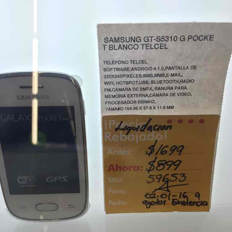 Office Depot: smartphone económico Samsung G Pocket