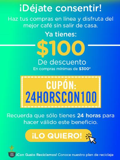 Nescafe dolce gusto: descuento de 100 en compra de 300