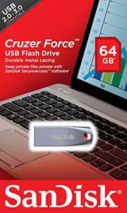 Amazon: Sandisk USB Cruzer Force 64GB