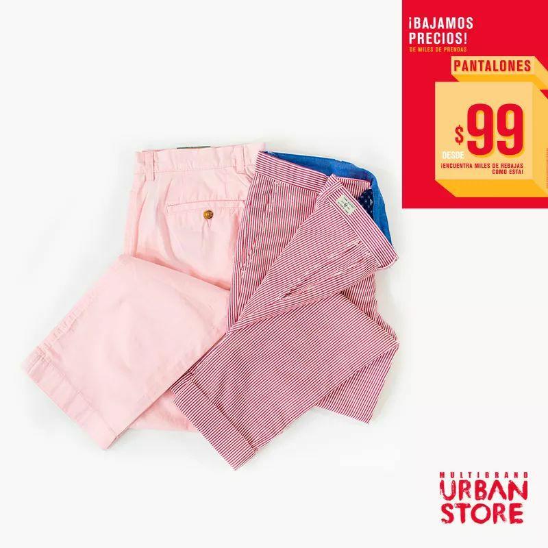 Urban Store: Pantalones desde $99