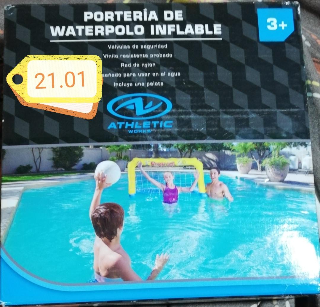 Bodega Aurrera Tuxpan, Ver: Portería inflable waterpolo y más