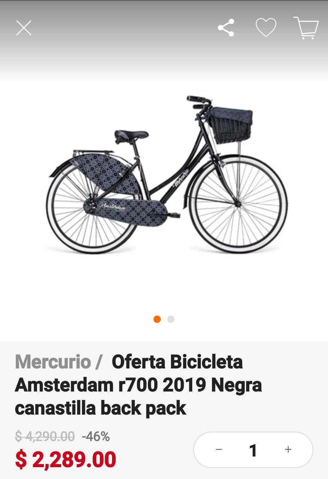 Linio: Bicicleta Amterdam r700 2019
